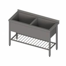 Darba galds ar 2 vannām
